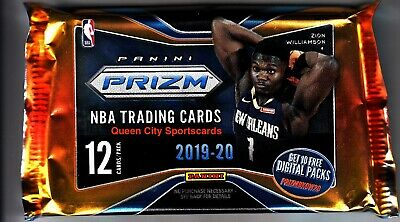 2019/20 Panini Prizm Basketball Factory Sealed Hobby Pack Fresh From Box