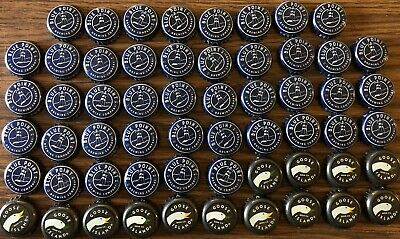 Lot Of 58 Bottle Caps Goose Island Beer Co Blue Point Brewing Co 04