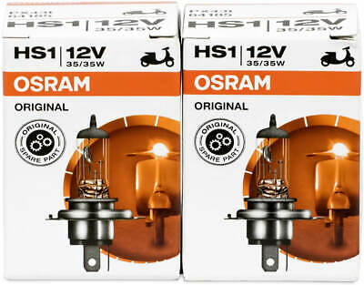 2X Hs1 12V 35W Px43t Osram Motorcycle Lamp Scooter Halogen Bulb Scooter 35W