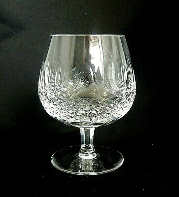 """COLLEEN SHORT STEM (Cut) by Waterford Crystal - LARGE BRANDY GLASS - 5 1/8"""""""