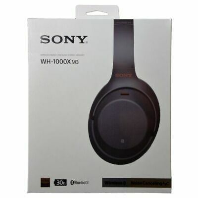 Sony WH-1000XM3 Wireless Noise Canceling Headphones - fast shipping