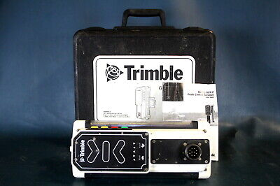 Trimble GCR-4 Machine Grade Control Screed Receiver w/ Case Used