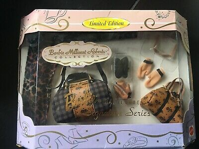 Nib Barbie Limited Edition Barbie Millicent Roberts Signature Series