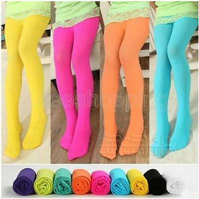 Candy Color Girls Kids Baby Tights Stockings Pantyhose Socks Ballet Dance Pants