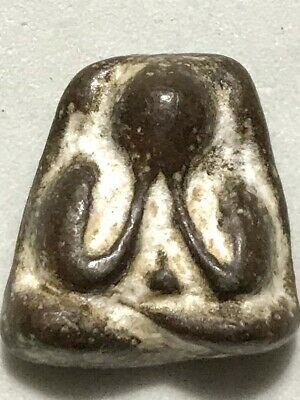 PHRA PIDTA LP SUK RARE OLD THAI BUDDHA AMULET PENDANT MAGIC ANCIENT IDOL#422