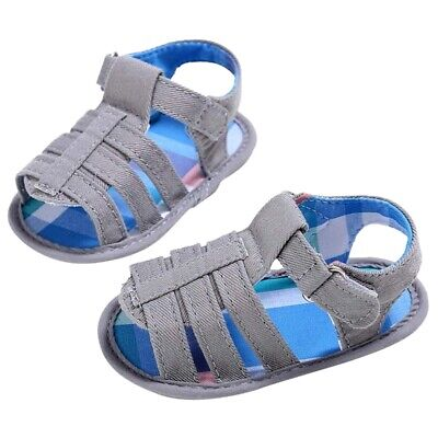 10X(Baby Infant Kids Girl boys Soft Sole Crib Toddler Newborn Sandals Shoes D8Y4
