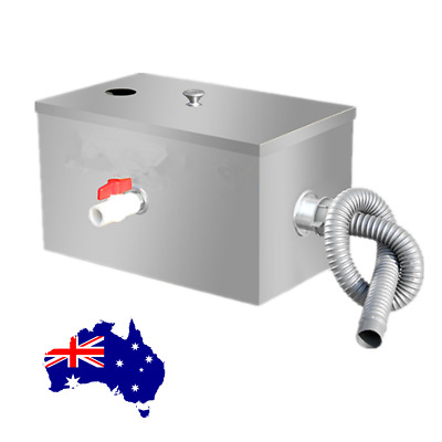 Grease Trap Stainless Steel Interceptor for Restaurant Kitchen AU