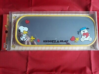 Peanuts Snoopy and Olaf Rear View Car Mirror