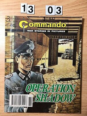 """Commando Comic # 2519 from 1991  """"Operation Shadow""""   Very Good Cond."""
