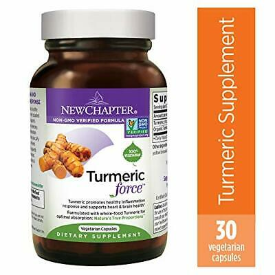Turmeric Curcumin Supplement, New Chapter Turmeric Supplement, One Daily, Joi...