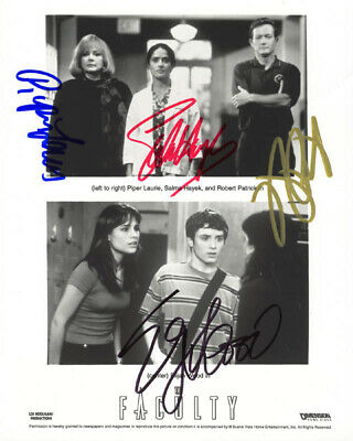 The Faculty Movie Cast - Autographed Signed Photograph With Co-Signers