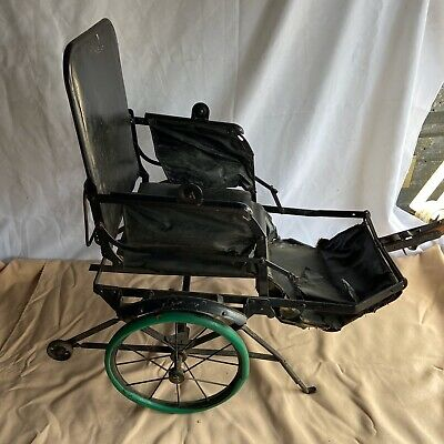"""Antique Early 1900's Folding Baby/Doll Buggy Carriage Stroller """"Palace Carts"""""""