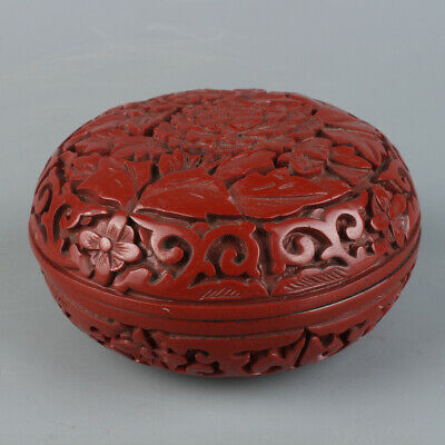 Chinese Exquisite Handmade Lacquer box