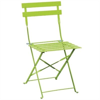 Bolero Steel Chairs Green (2er Pack)