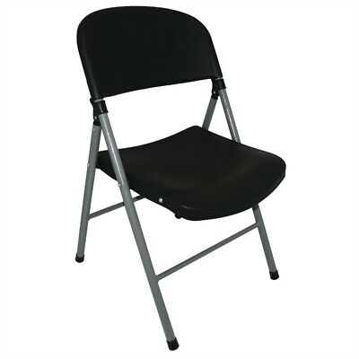 Bolero Folding Chairs Black (Box 2)
