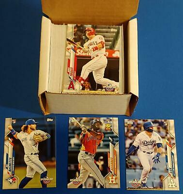 2020 Topps Opening Day COMPLETE SET 200 CARDS LUX BICHETTE ALVAREZ FREE SHIP