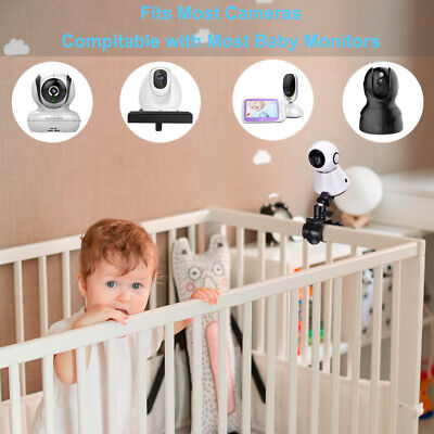 360°Rotatable Baby Monitor Mount Bracket Adjustable Video Camera Holder