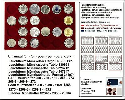 Look 12334-24-44 Coin Trays 24 round 44 mm for 5 Mark Empire in Coin Capsule