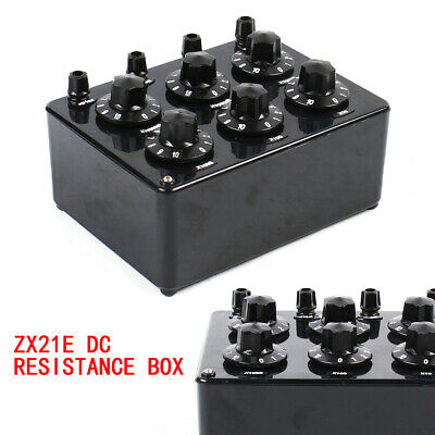 6 Dail Decade Resistance Box DC Adjustable Resistor Box 0~11.11110MΩ