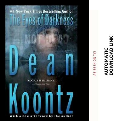The Eyes Of Darkness By Dean Koontz Full PDF! Disease Epidemic😷Read Description