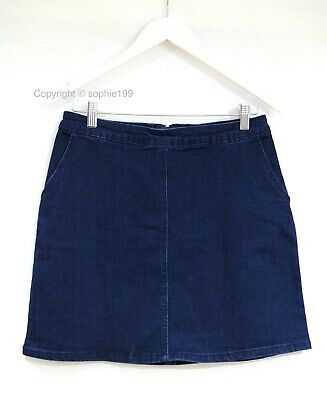 Brand New with Tags Oasis Blue Denim Skirt Size UK 10