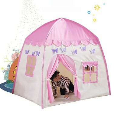 Kids Children Pop Up Princess Castle Paly Tent Game Playhouse Girl Fairy Gift