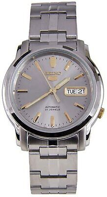 Seiko 5 Sports Automatic Silver Stainless Steel Mens Watch SNKK67K1 RRP £149