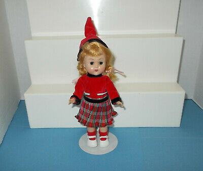 """Vintage Vogue 8"""" Ginny B/Knee Doll in Fun Time Outfit ~ Ready to Display 1950s"""