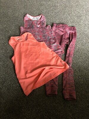Girls Sports Tops And Leggings 4-5 Years