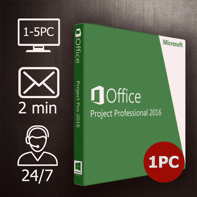 Visio + Project 2019/2016 - COMBO - 32&64 Bits - Versand per Email