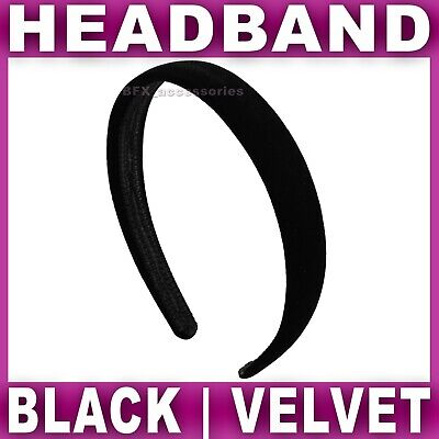12x ALICE BAND 1.5cm wide satin headband head hair bands aliceband Womens Girls