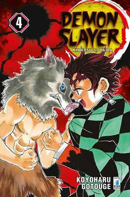 Manga - Star Comics - Demon Slayer 4 - Nuovo !!!