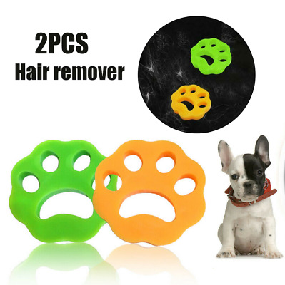 Hair Remover Pet Hair Remover Dryer for your Laundry-Add to Washer & Dryer 2PCS