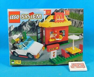 LEGO 3438 System McDonald's Drive Thru 88 Pieces Sealed