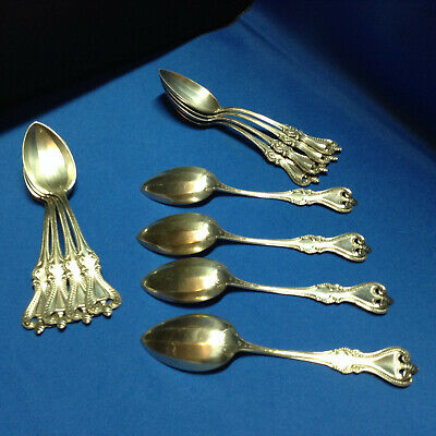 4-- Towle Old Colonial Pattern Coffee/Tea spoons Sterling Silver No Monos