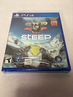 Steep Sony PlayStation 4, 2016 Brand New Sealed Video Game Ubisoft Ps4