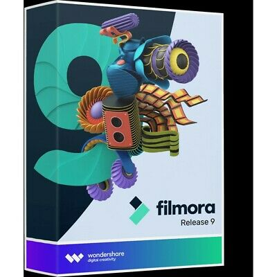 Wondershare Filmora 9 Versione completa Windows Lifetime License Key Covert...