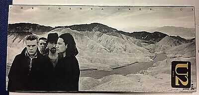 U2 ‎– The Joshua Tree - CD LONGBOX USA  075679058126 - Sealed Mint New Rare