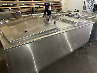 545 Gallon Stainless Refrigerated Tank With Agitator
