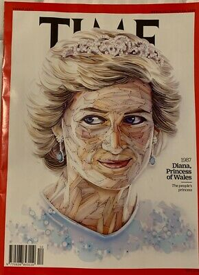 BRITISH TIME MAGAZINE: 1987 DIANA, PRINCESS OF WALES. March 16-23, 2020
