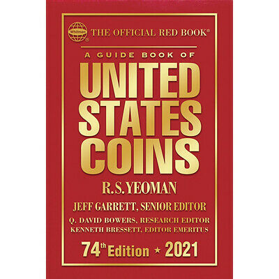 2021 Hard Back Redbook - Guide Book Of United States Coins  ***Pre-Sale***
