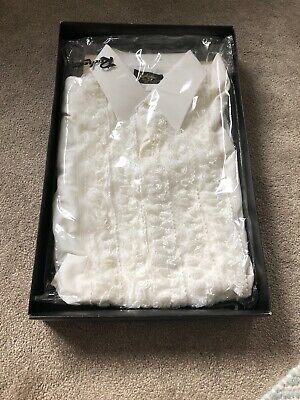 Very Rare VINTAGE Boxed ROCHESTER Dress Shirt White (8109) Size 15.5/39