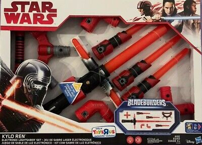 Star Wars Kylo Ren Electronic Bladebuilders Lightsaber Set By Hasbro For Disney