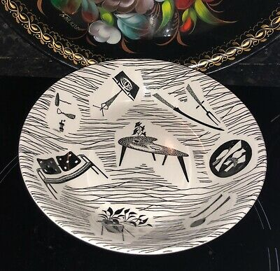 Vintage Ridgway Potteries Ltd Homemaker breakfast cereal bowl dish