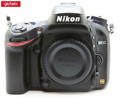 Nikon D610 Digital SLR Camera BOXED!     **ONLY 3,766 SHOTS!** *     #3368