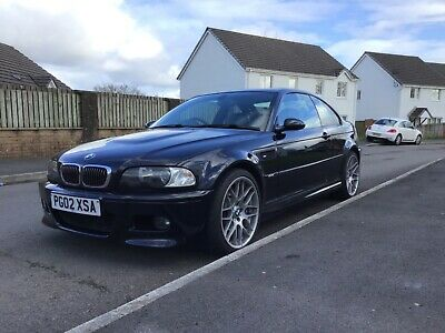 BMW M3 E46 Carbon Black M4 Brakes CSL Wheels SMG
