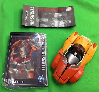 Transformers Generations Universe Legends Class Classics Autobot Wheelie MOSC