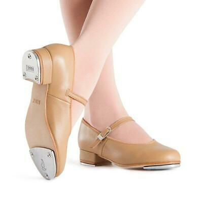 Bloch Tan Leather Tap Dance Shoes - Child & Adult Sizes