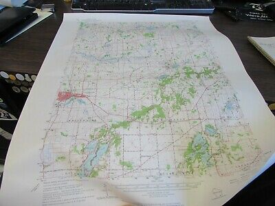Whitewater Wisconsin  - Topographic Map U.s. Geological Survey 1964
