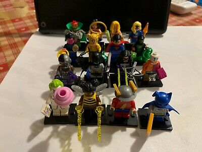 LEGO MINIFIGURES 71026 DC Super Heroes Series - Complete set of 16 New